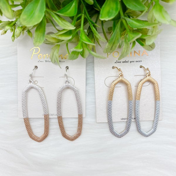 Simple Statement Earrings *Final Sale*