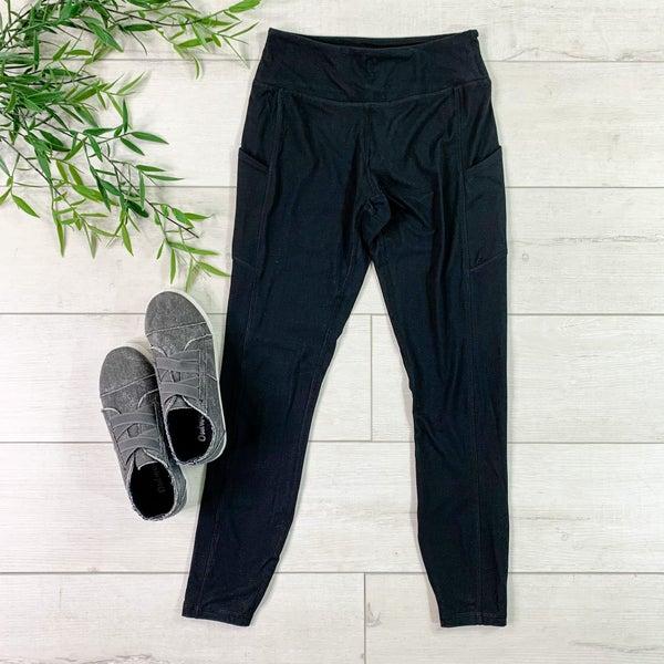 Athletic Pocket Legging, Black