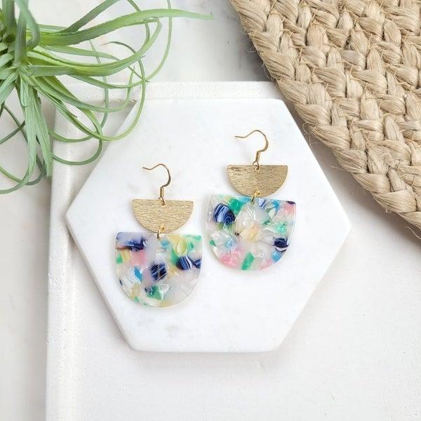 Spring Fling Handmade earrings