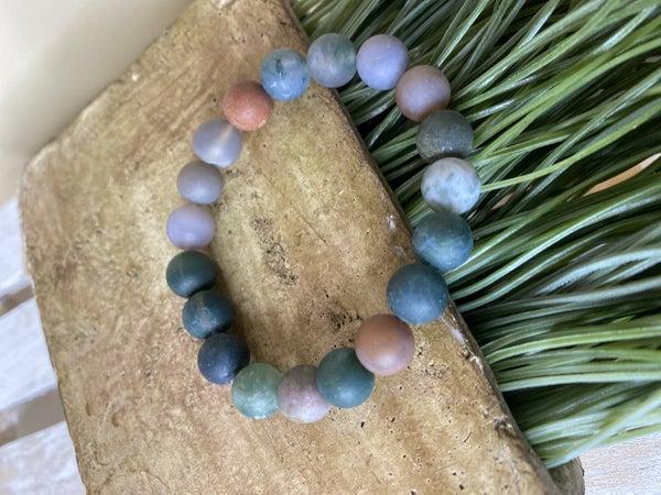 Tie Dye Stone bracelet