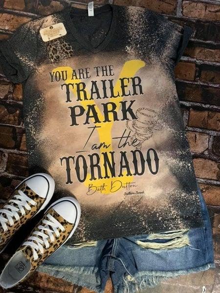 PRE-ORDER Trailer park and Torrnado tee
