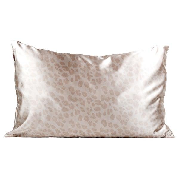 Satin Pillowcase (Leopard print)