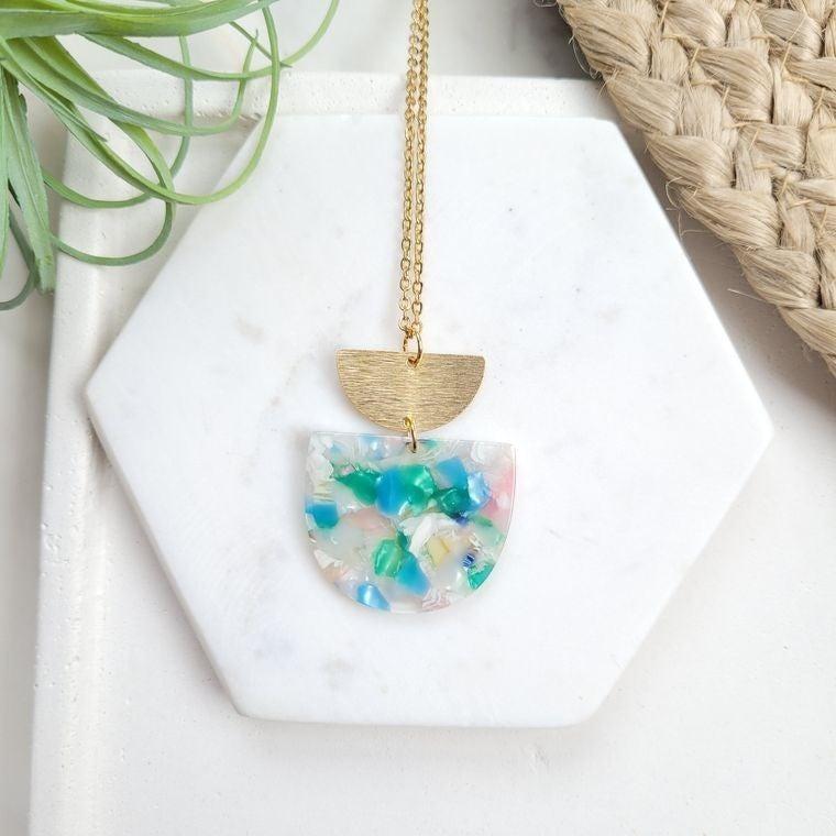 Spring Fling handmade necklace