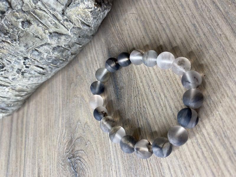 Black stone bracelet