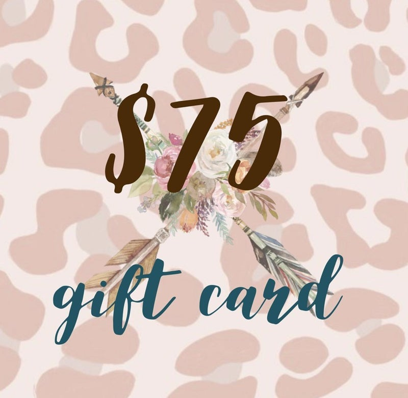 $75 Tribe Tender Gift Card