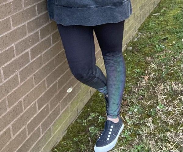 Reflective athleisure leggings