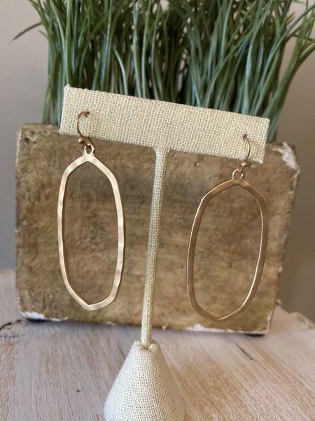 Unique Drop earring