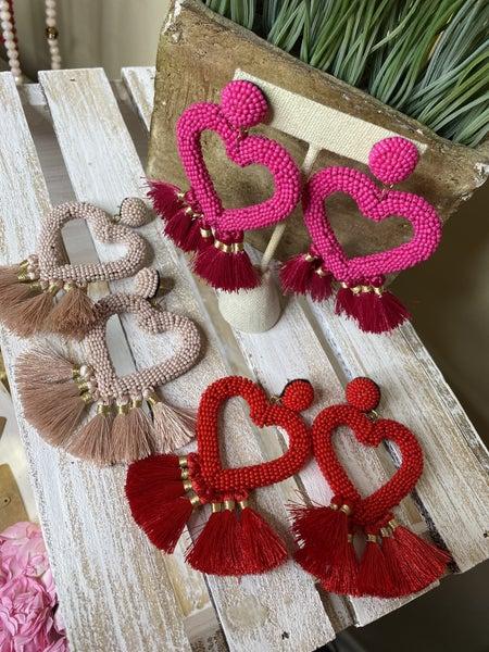 My Heart is Full of Tassels Earrings