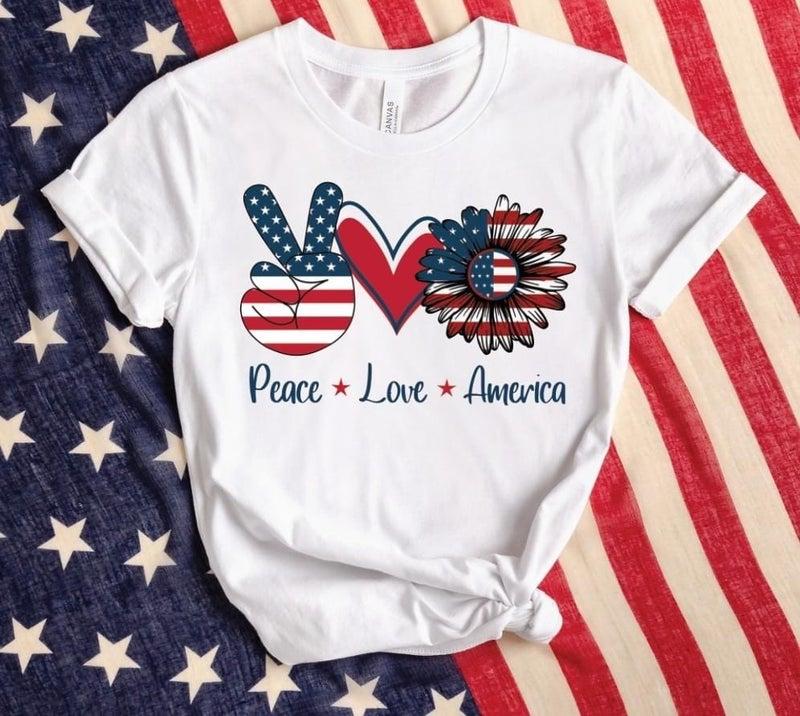 Pre-order Peace Love America