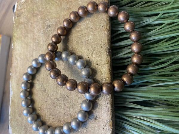 Metallic Stretch Bracelet