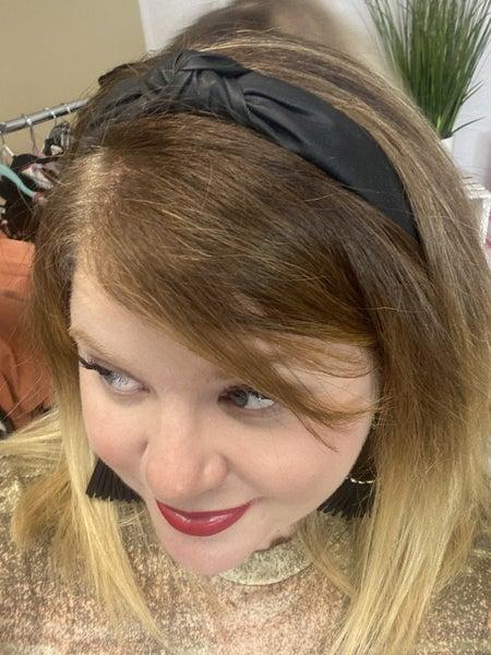 Vegan Leather Headbands