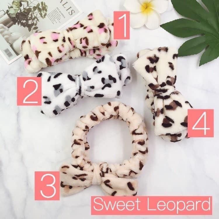 Leopard Spa Headband