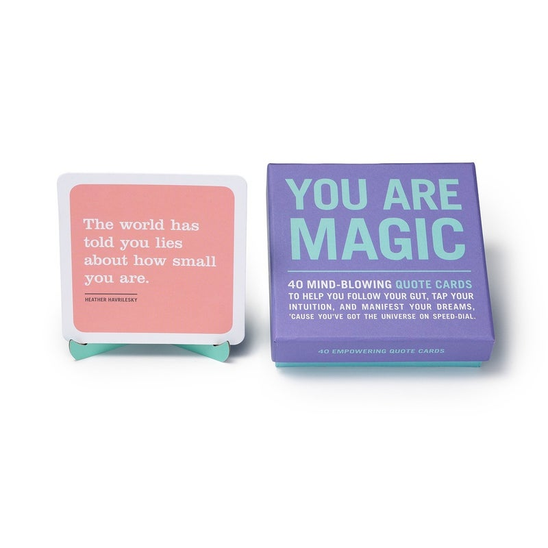 You Are Magic box of quotes