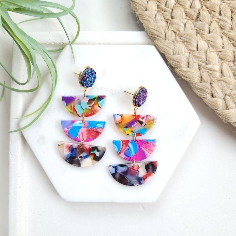 Fiesta Handmade in the USA earrings