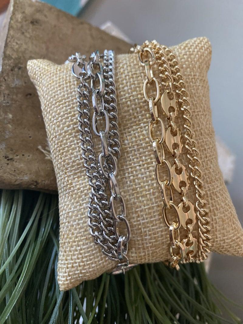 Chains bracelet