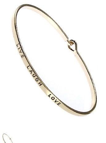 Say it gold bracelet