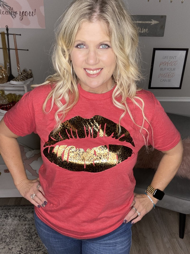 Red Hot Graphic Tee
