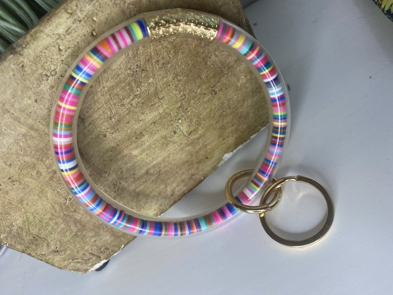 Serape Key Bracelet