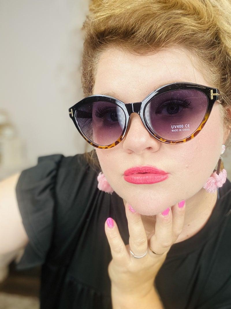 Caroline Cat Eye Sunglasses