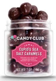 CANDY CLUB Cupid's Sea Salt Caramels