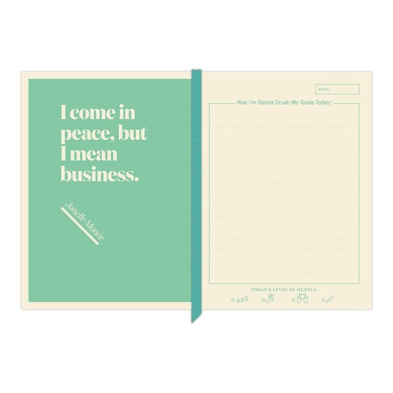 Crush My Goals journal