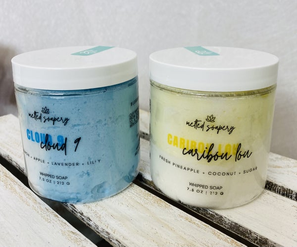 Whipped Soap from the Melted Soapery