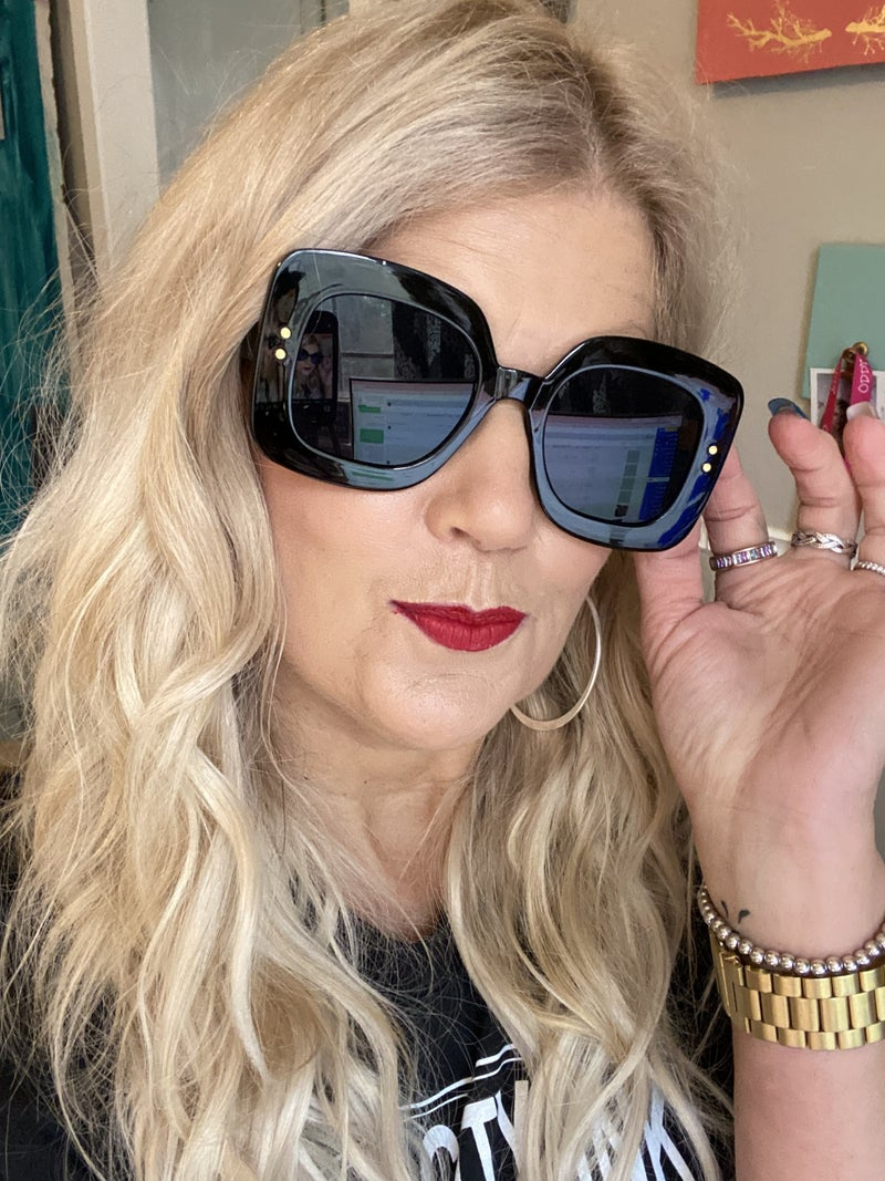 GISELLE Black sunglasses
