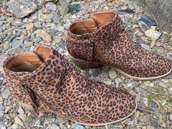 Corkys Leopard Bootie