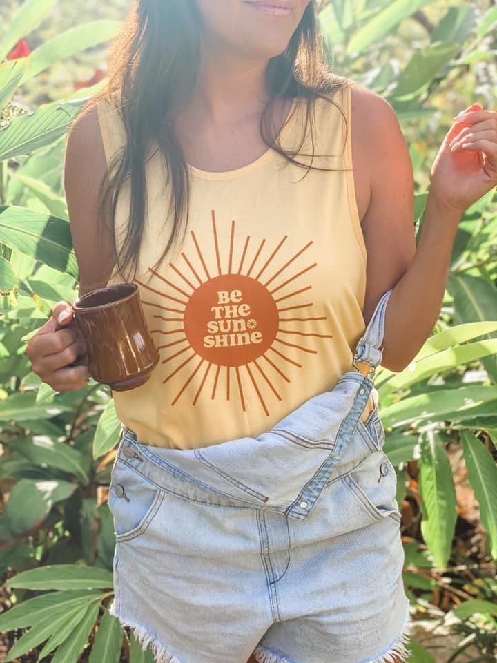 PRE-ORDER Be the sunshine graphic tank