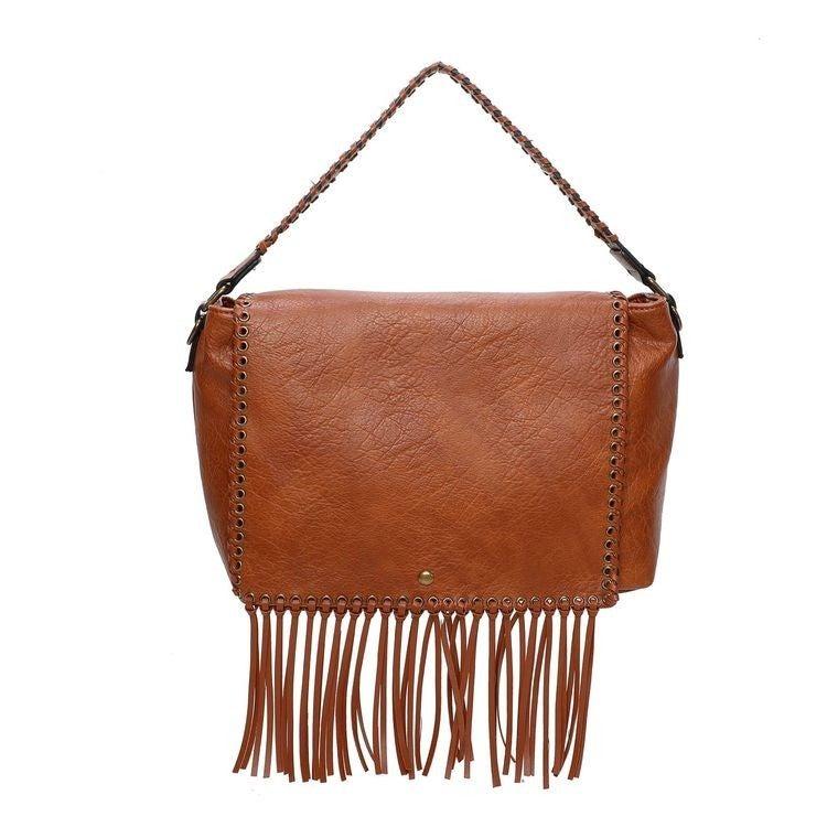 Lacey Fringe messenger bag