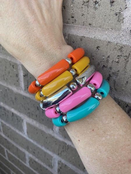 Lucite Handmade Bracelets