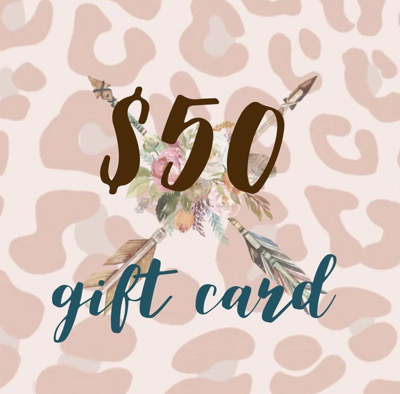 $50 Tribe Tender Gift Card