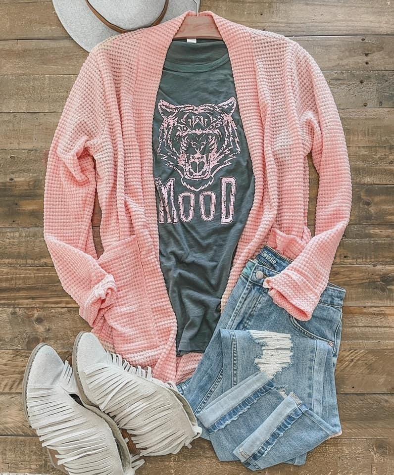 Blush Spring Sweater