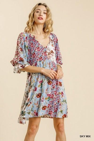 Mandarin Collar Dress from Umgee
