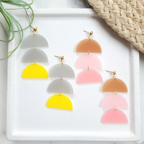 Luna Handmade earrings
