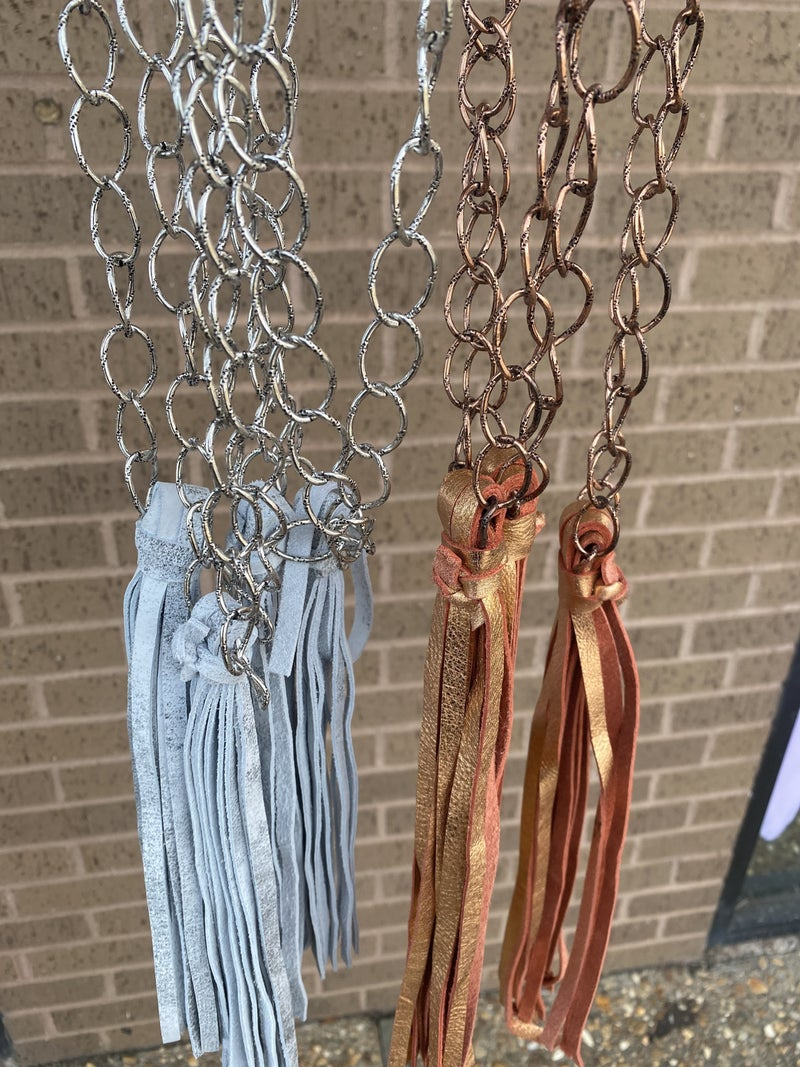 Chain and Tassel Necklace