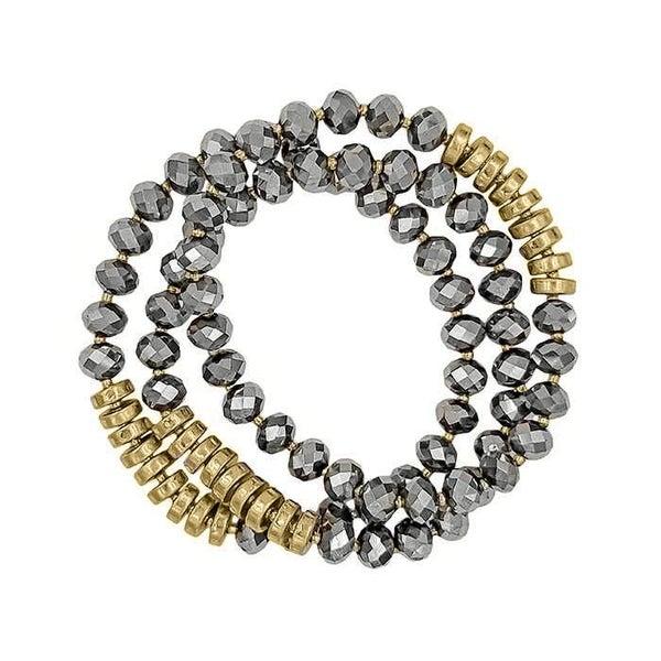 Asher Mixed Metal Bracelet