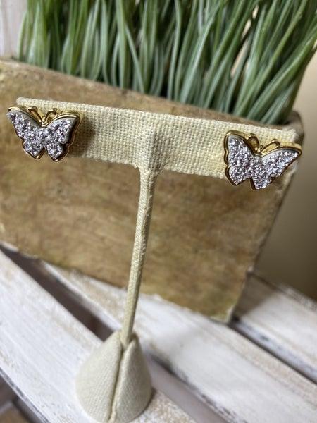 ShimmerFly Ear Rings