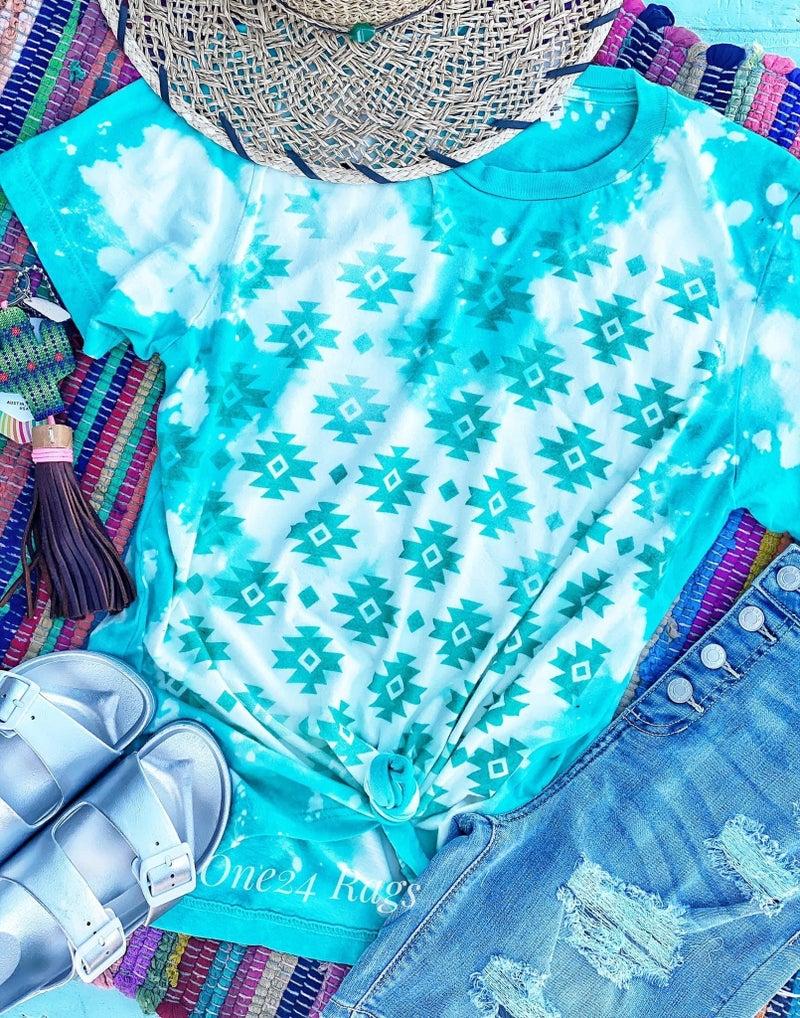 Pre-order Turquoise Aztec