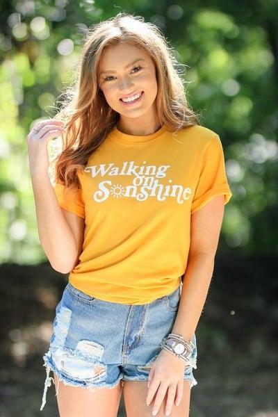 PRE-ORDER  Walking on SONshine tee