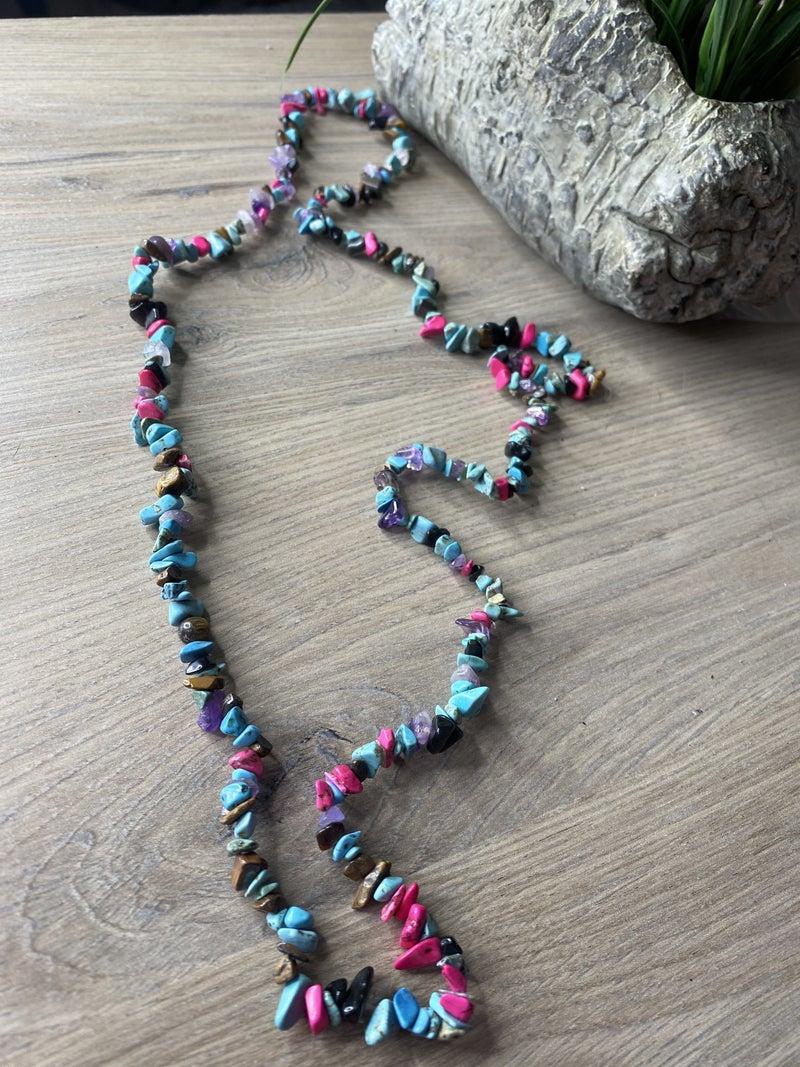 Rock Candy Stretch necklace
