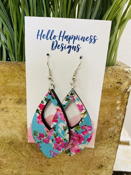 Hello Happiness Handmade Cherry Blossom Earrings