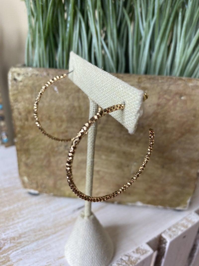 Dainty crystal hoop