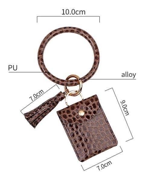 Wristlet Card Holder