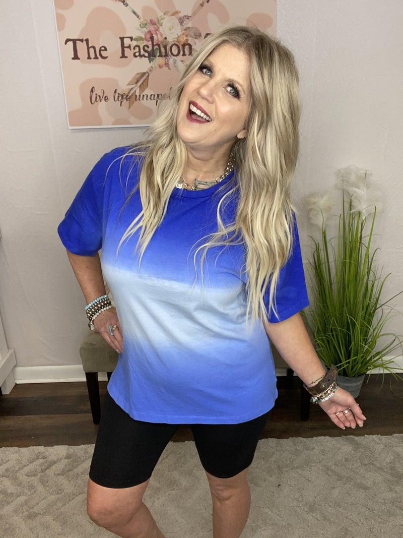 Blue Ombre T-shirt