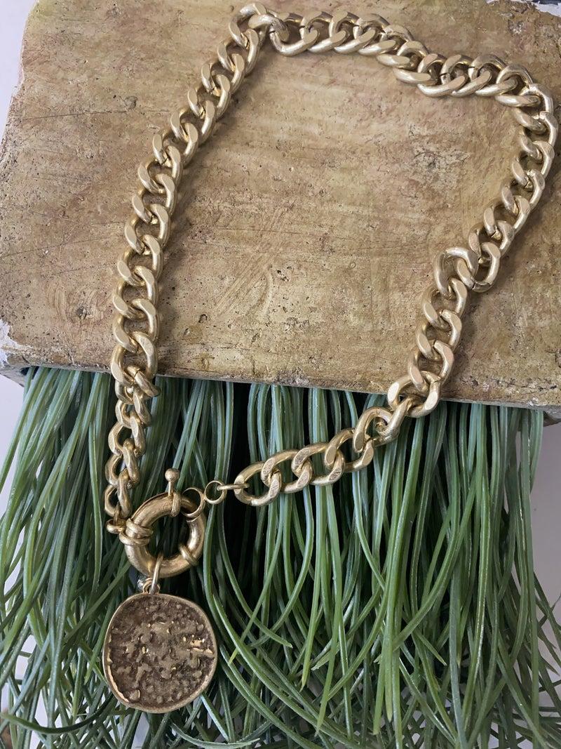 Single Coin Necklace
