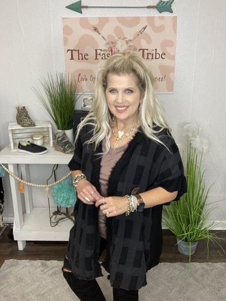 In The Fray black kimono
