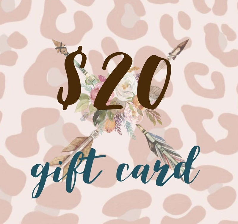 $20 Tribe Tender Gift Card