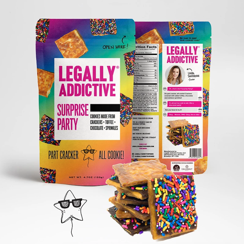 Surprise Party Snack Crackers by Legally Addictive