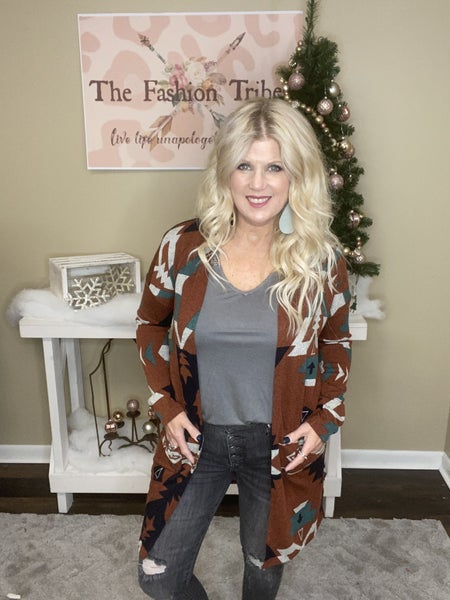 Aztec Duster by Beeson River *Final Sale*